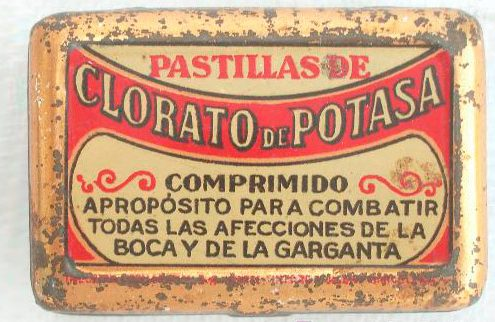 clorato potasico