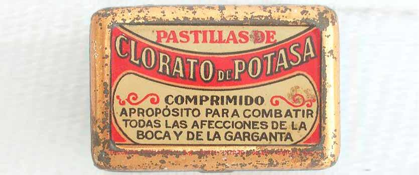 clorato de potasa - cloruro potasico