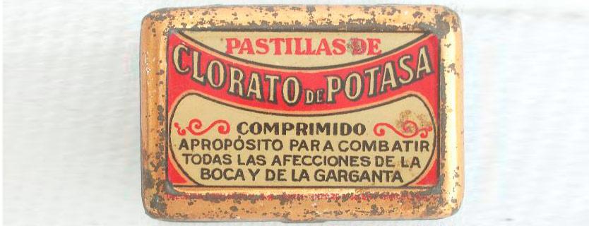 clorato potasico para la afonia
