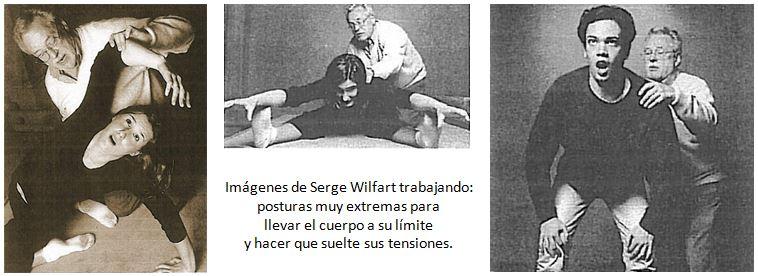 serge wilfart trabajando con alumnos