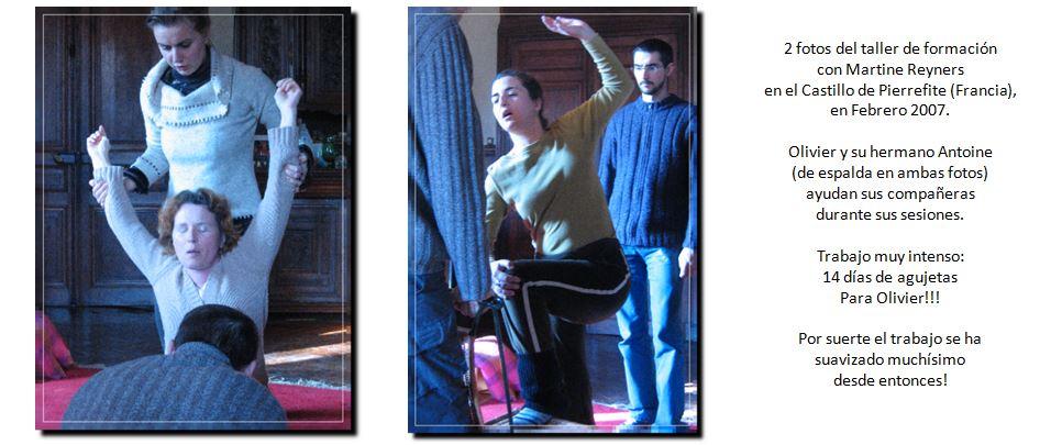 ejercicios del metodo Wilfart en Pierrefite