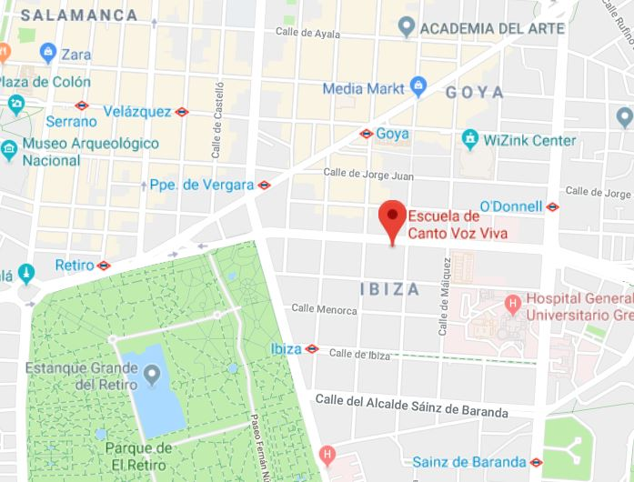 mapa escuela madrid