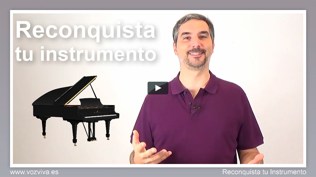 miniatura clases de canto online instrumento