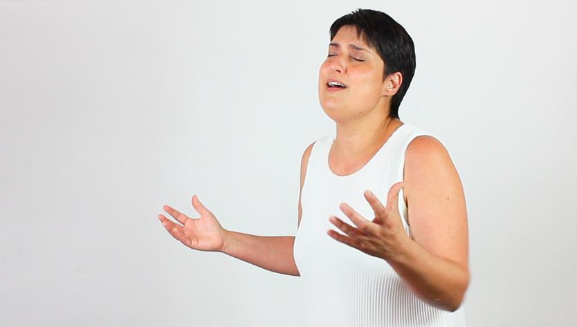 cantar con el diafragma